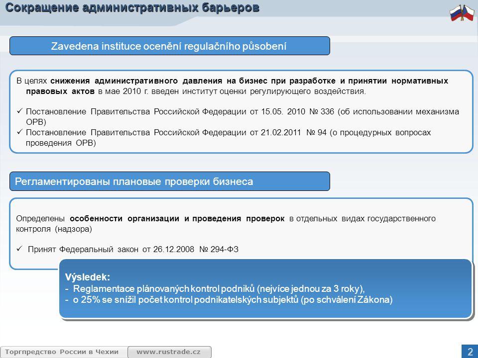 www.rustrade.cz Торгпредство России в Чехии Развитие атомной энергетики в Российской Федерации.