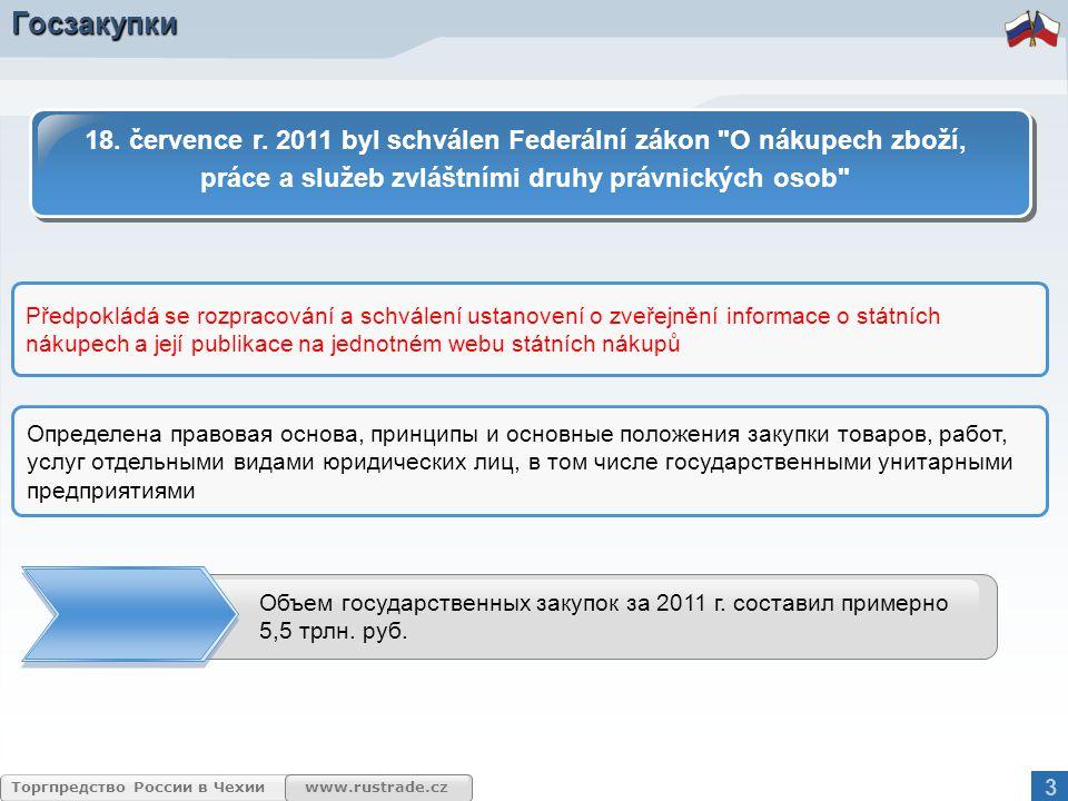 www.rustrade.cz Торгпредство России в Чехии Торгово-экономические отношения Чехия является одним из важных и надежных экономических партнеров России (21 место по объему товарооборота по итогам 2011 г.).