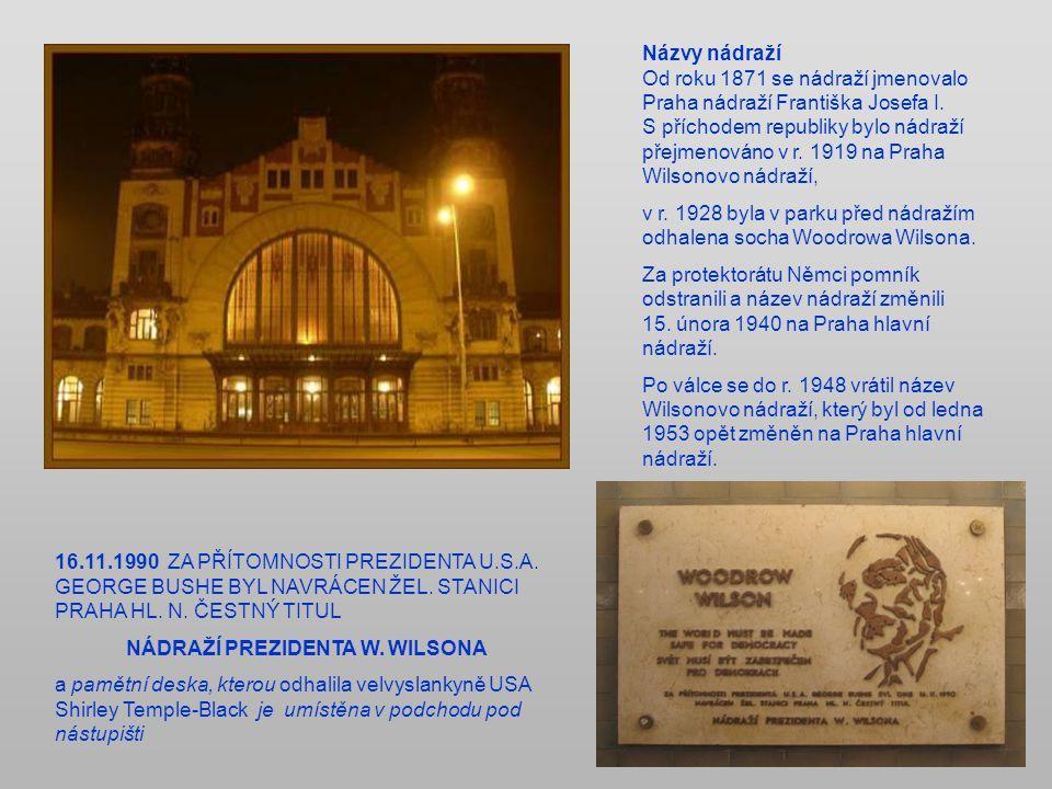Původní nádraží bylo vybudováno v r.