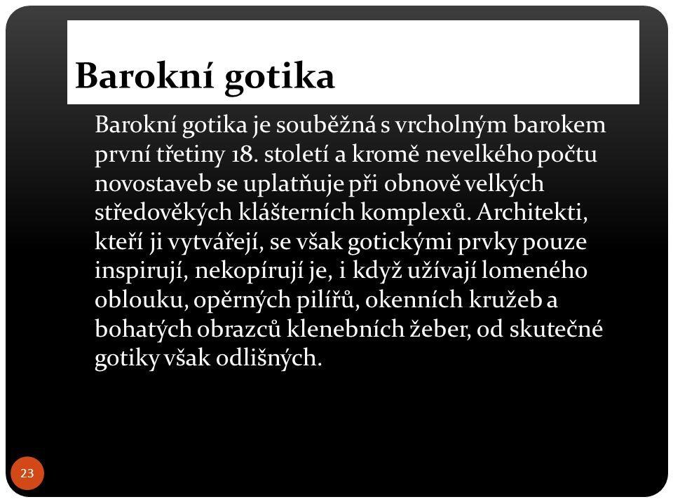 Barokní gotika 24