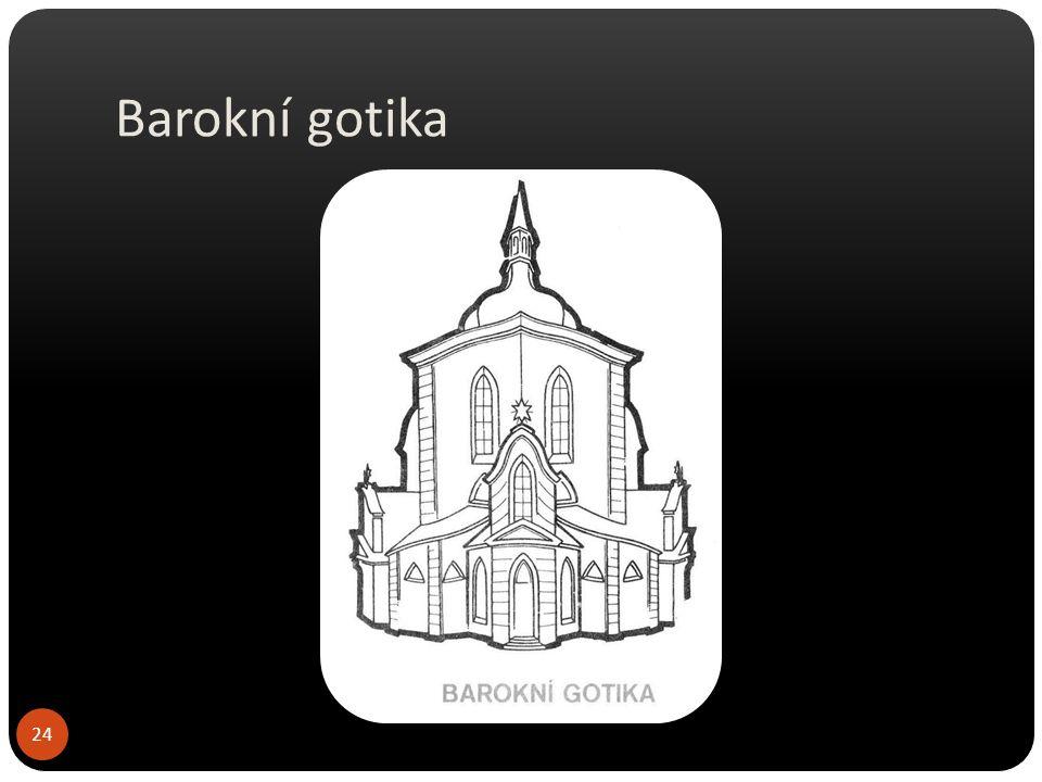 Barokní gotika Roudnice nad LabemSedlec u Kutné Hory 25