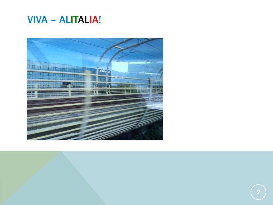 VIVA – ALITALIA! 2
