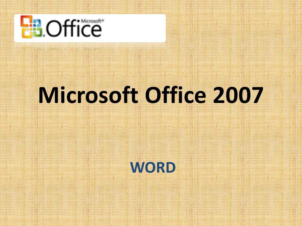 Pás karet • Při prvním spuštění aplikace Word 2007 vás možná překvapí její nový vzhled.