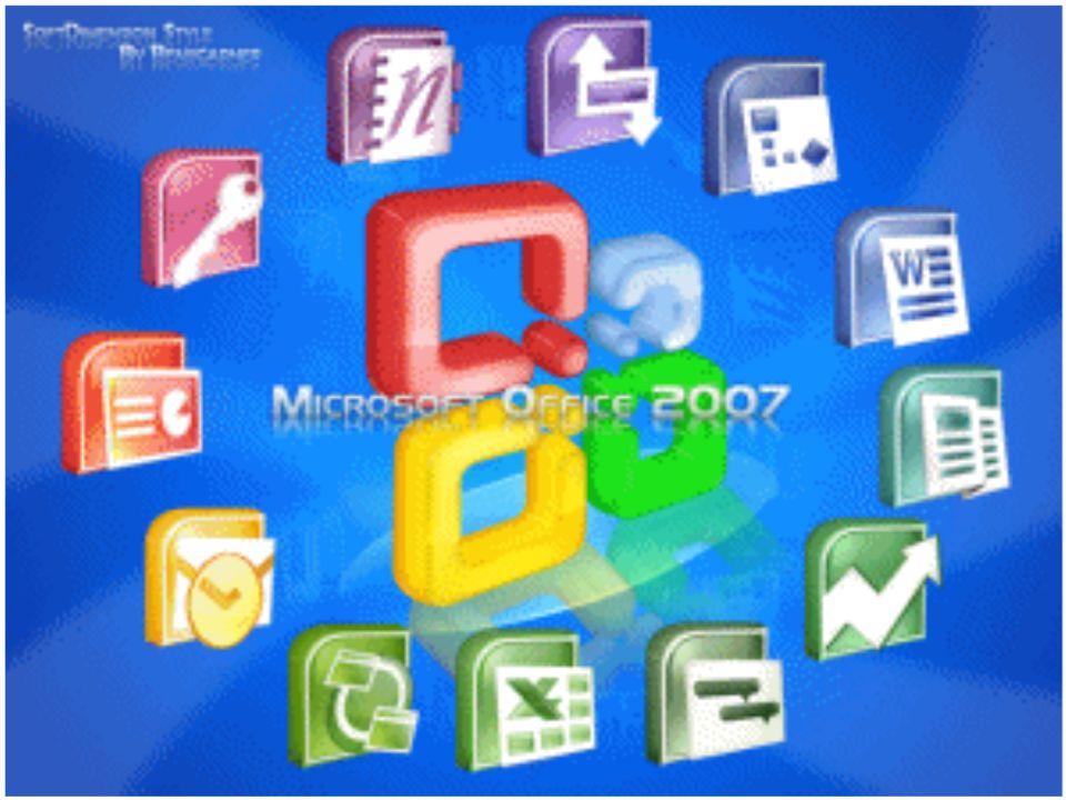 Office 2007 obecně Office 2007 je sada aplikací, zvaných kancelářský software, který je distribuován v různém provedení a v různých verzích.