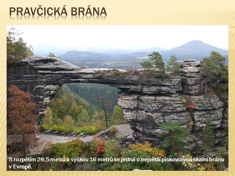 největší pískovcové skalní město střední Evropy Starosta a starostová