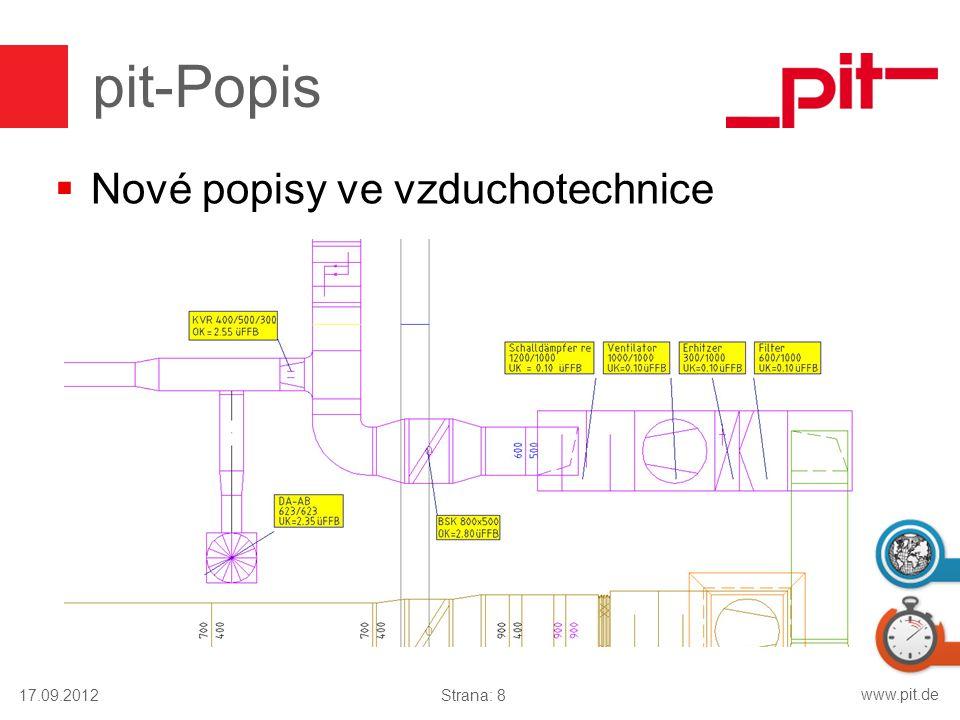 www.pit.de pit-Popis  Nové popisy ve vzduchotechnice 17.09.2012Strana: 8