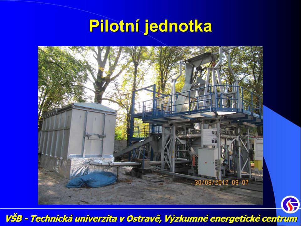 VŠB - Technická univerzita v Ostravě, Výzkumné energetické centrum Pilotní jednotka