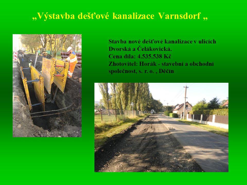 Tato akce je prováděna souběžně s rekonstrukcí splaškové kanalizace a vodovodu v ul.