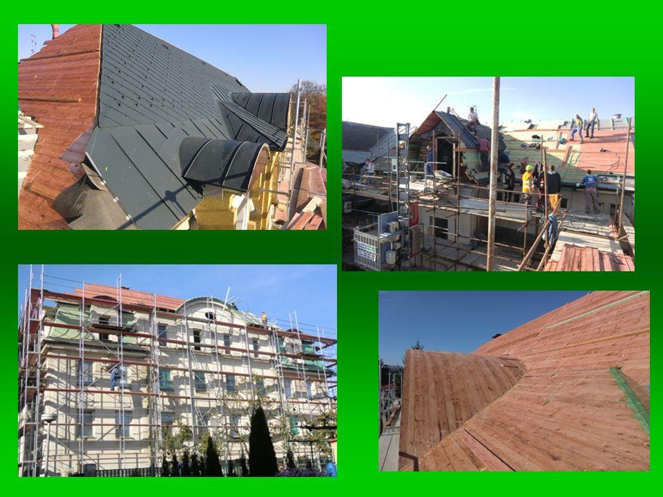 Částečná rekonstrukce vstupní části budovy.Cena díla: 1.413.709 Kč.