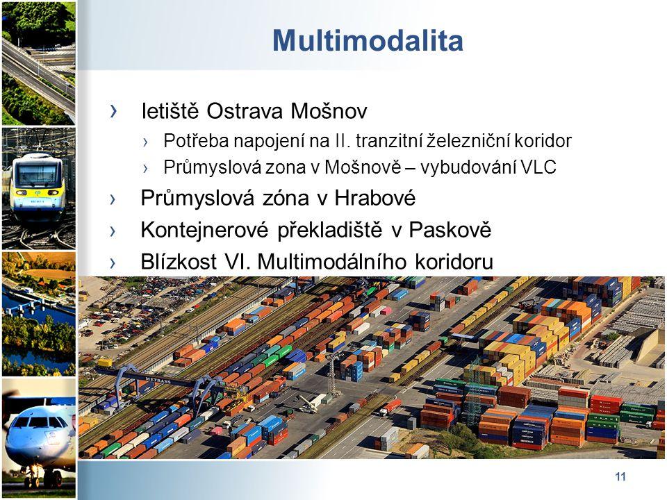 11 Multimodalita › letiště Ostrava Mošnov ›Potřeba napojení na II.