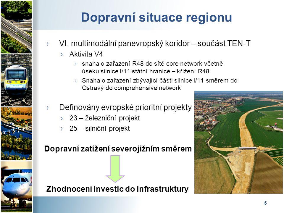 5 Dopravní situace regionu › VI.