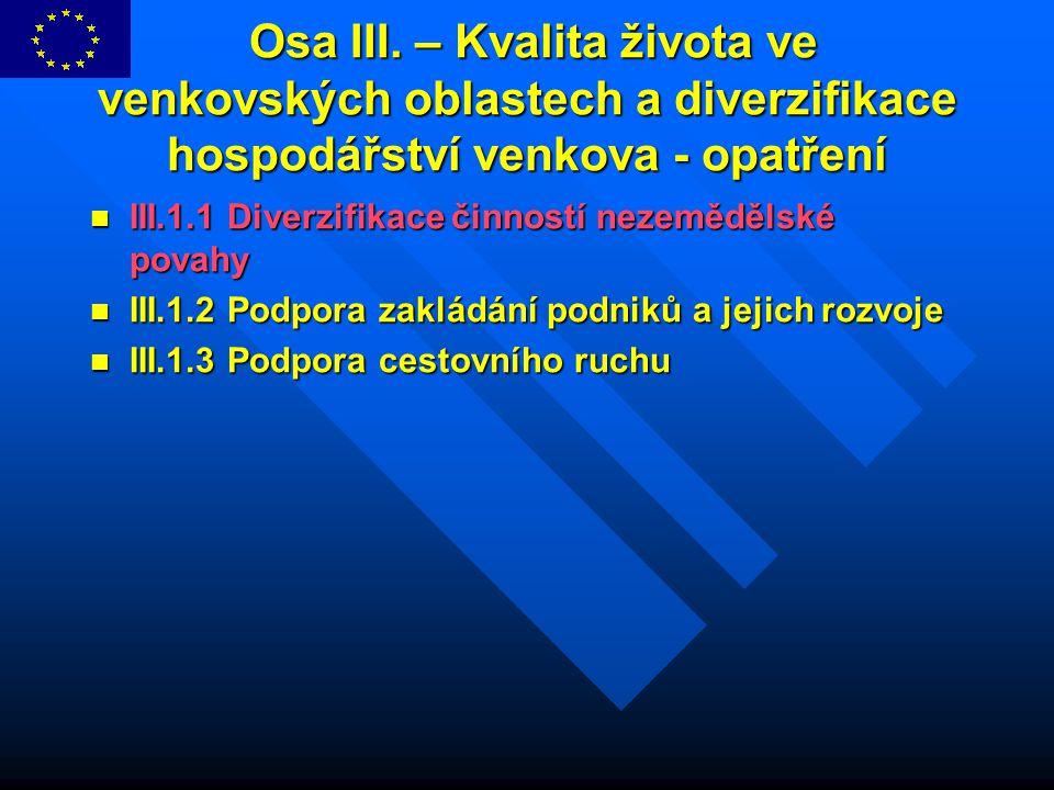 Opatření III.1.3.