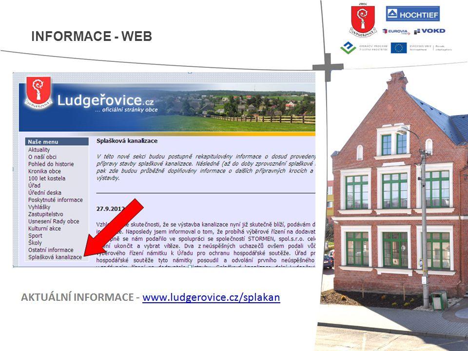 INFORMACE - WEB