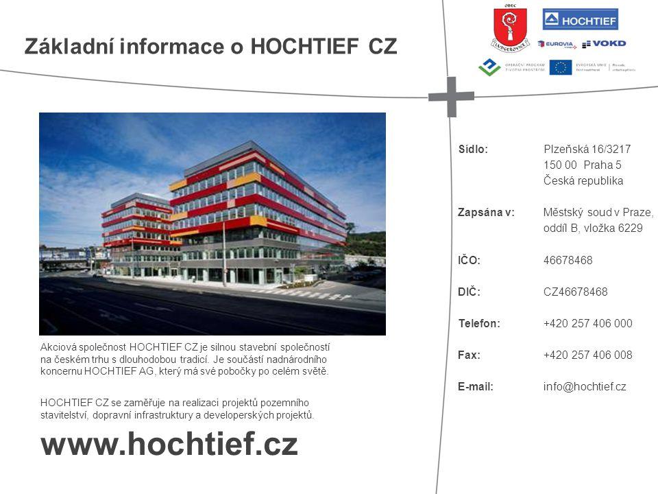 • Datum podepsání smlouvy: 1.8. 2012 • Slavnostní zahájení: 4.