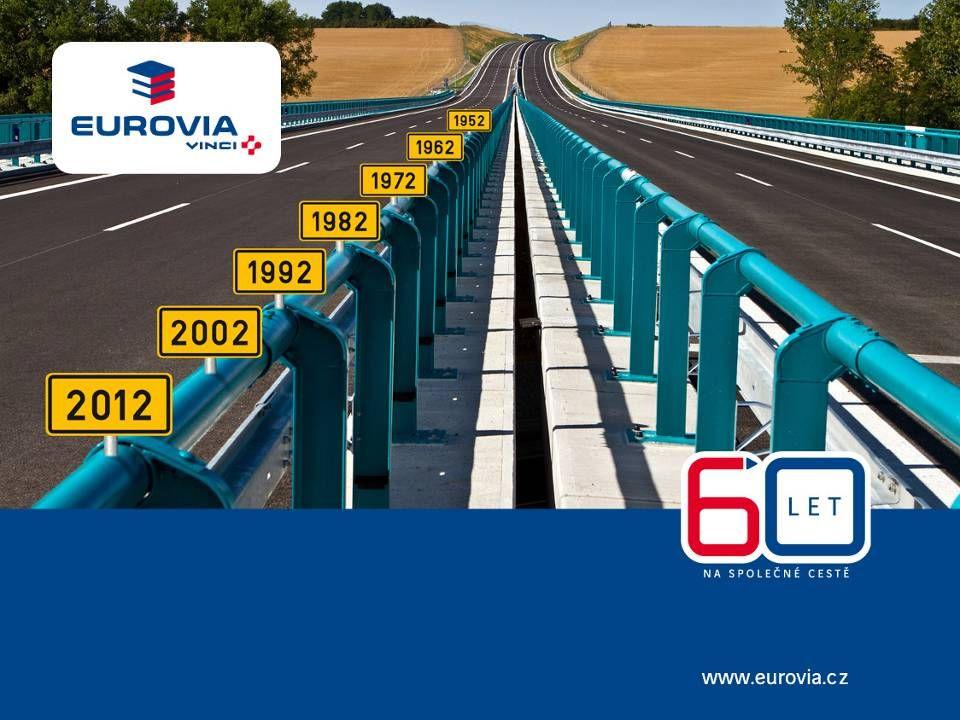 Základní informace o firmě EUROVIA CS, a.s.