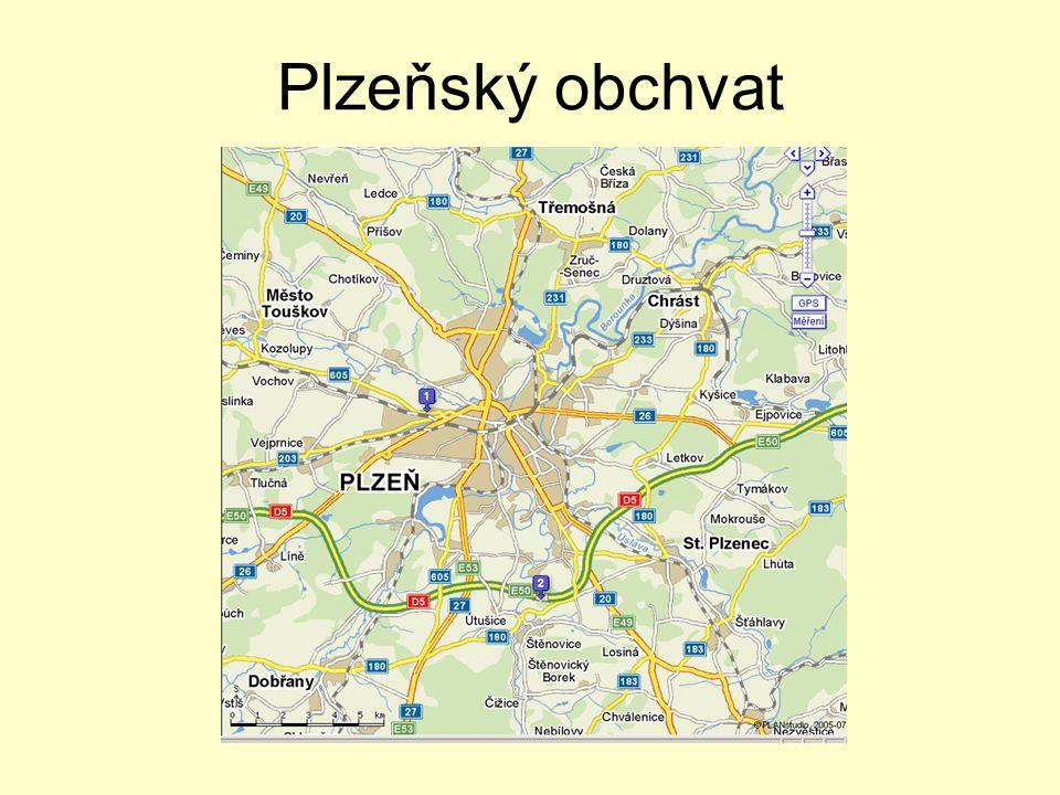 Obchvat Plzně •stavba 0510 •dělena na dva úseky:  0510/I (část A a B) Ejpovice - Útušice, cca 12 km (Ejpovice – Černice/Černice – Útušice)  0510/II Útušice – Sulkov, cca 8 km •mosty přes Úhlavu, Úslavu a Radbuzu jsou projektově i investorsky samostatnými stavbami