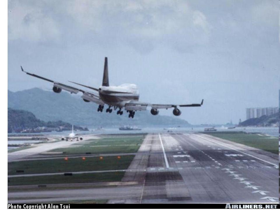 Letiště pro letadla se strmým vzletem (STOL).