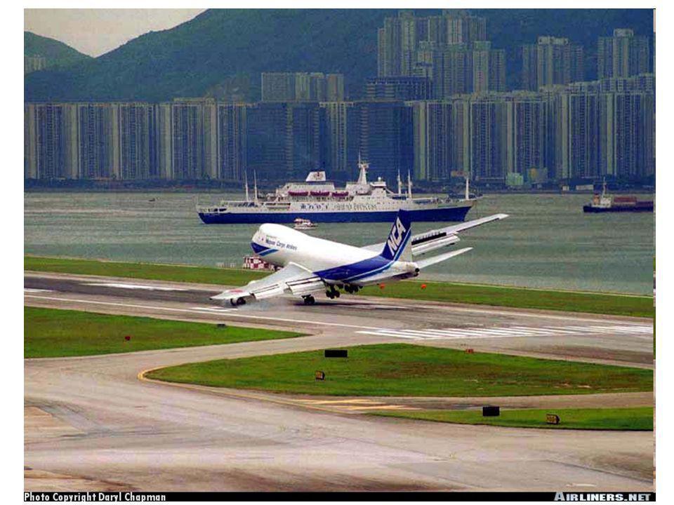 Vliv rychlosti a směru větru na pohyby letadel •Vítr má značný vliv na směr a rychlost letícího letadla a na směr a délku vzletu a přistání.