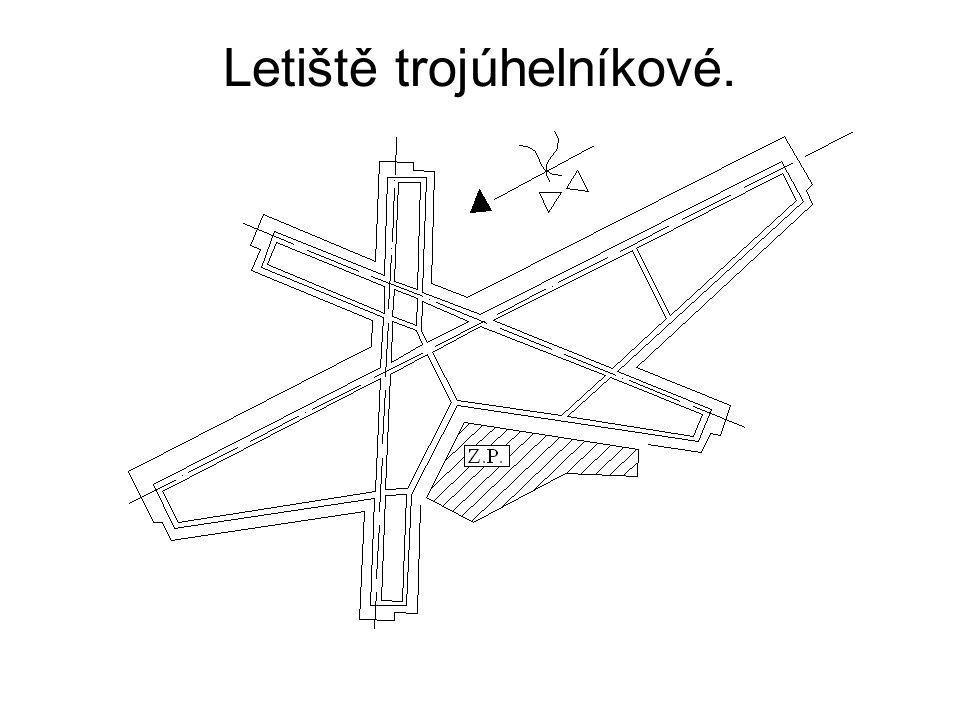 Letiště trojúhelníkové.
