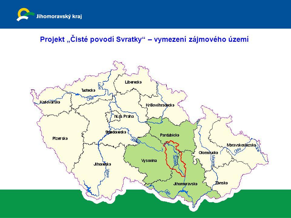 """Projekt """"Čisté povodí Svratky"""" – vymezení zájmového území"""