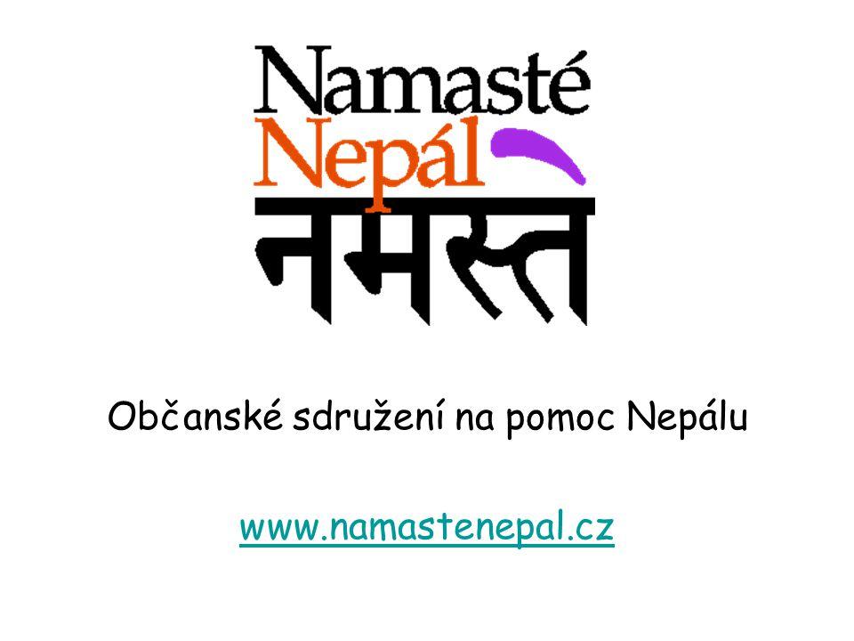 Občanské sdružení na pomoc Nepálu www.namastenepal.cz