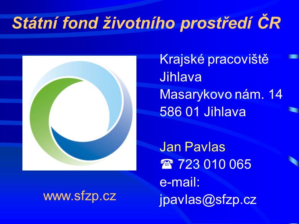 www.sfzp.cz Krajské pracoviště Jihlava Masarykovo nám.