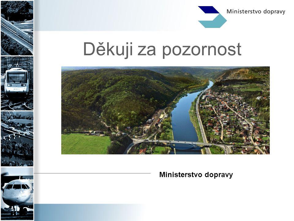 Děkuji za pozornost Ministerstvo dopravy