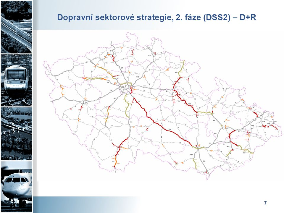 7 Dopravní sektorové strategie, 2. fáze (DSS2) – D+R