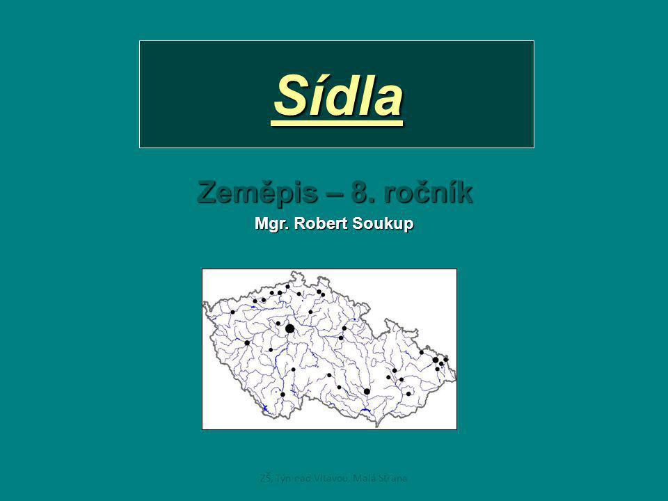 Vývoj osídlení ČR •Byl to dlouhodobý proces, který neustále trvá.