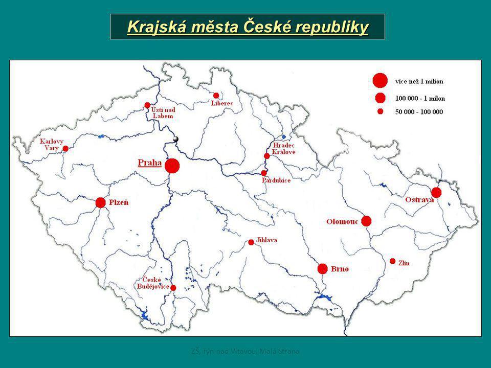 Krajská města České republiky ZŠ, Týn nad Vltavou, Malá Strana