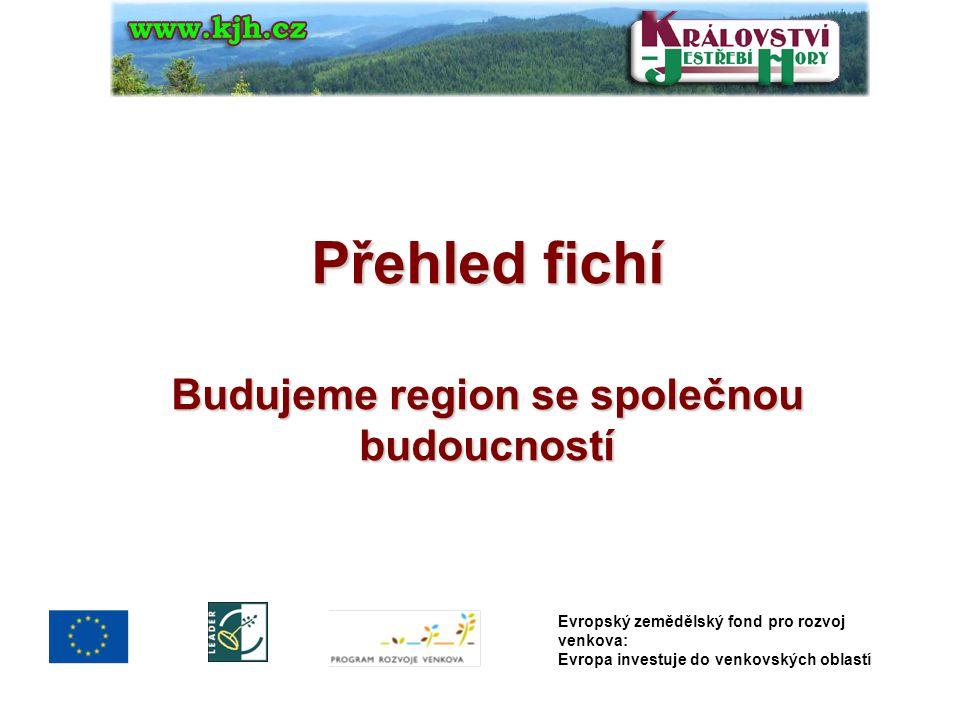 Přehled fichí Budujeme region se společnou budoucností Evropský zemědělský fond pro rozvoj venkova: Evropa investuje do venkovských oblastí