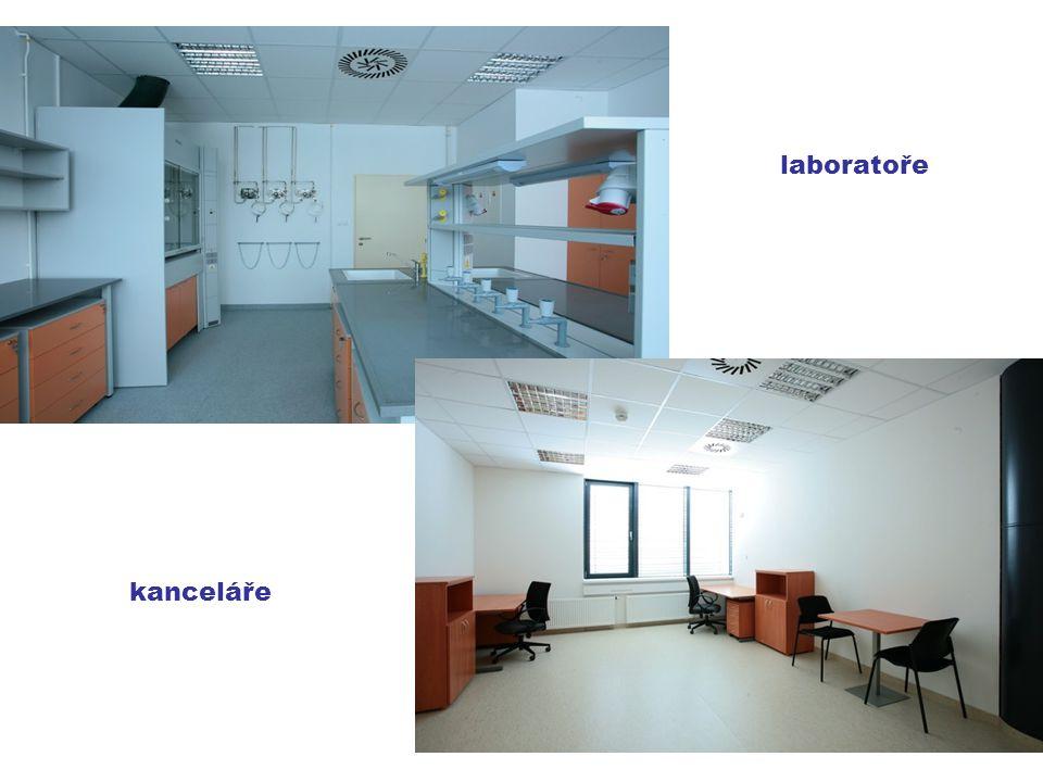 kanceláře laboratoře