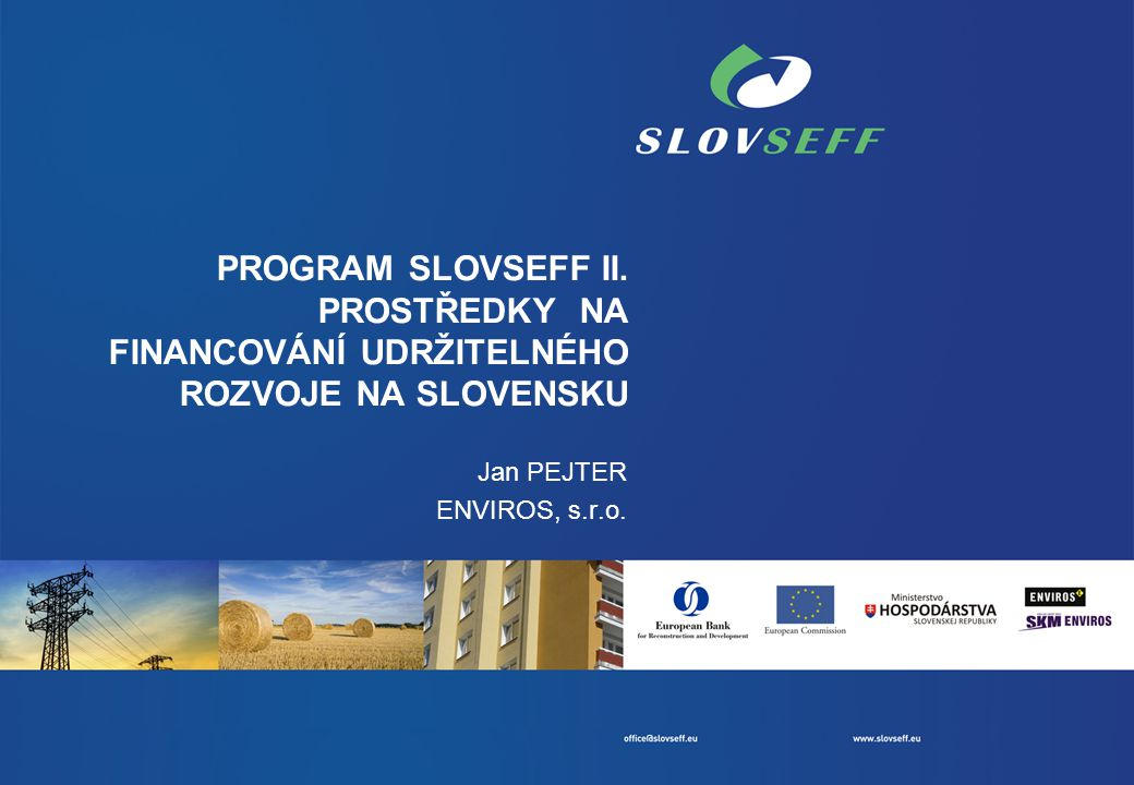 PROGRAM SLOVSEFF II.