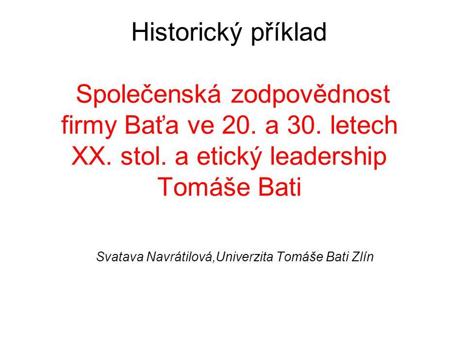 z historie firmy Baťa do r.