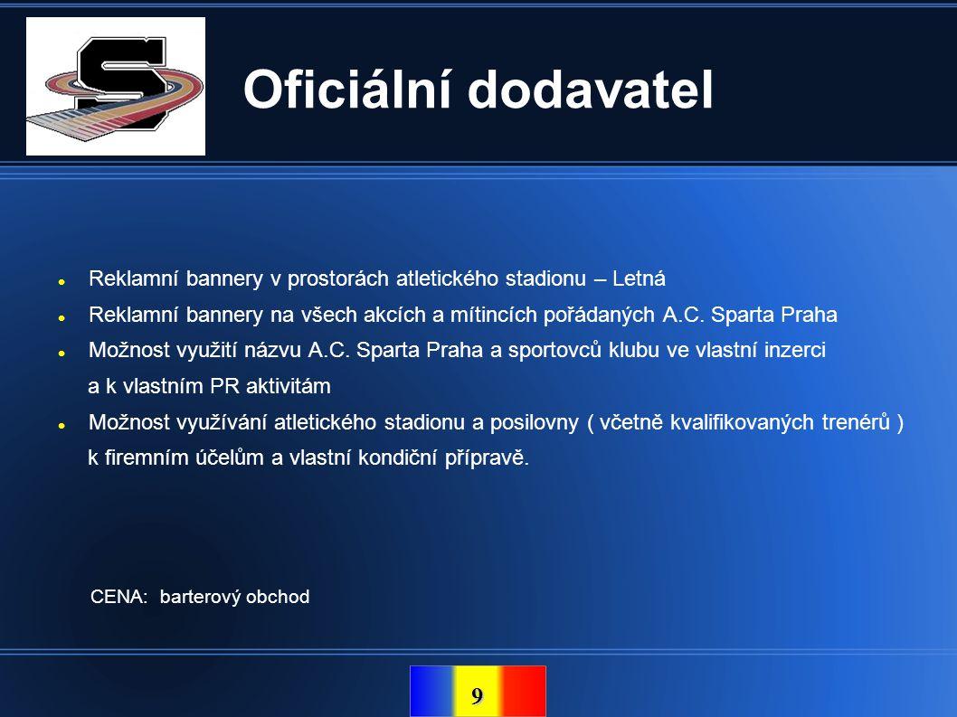 10 Kontakt Oficiální stránky klubu: www.atletikasparta.cz Kontaktní osoba: Petr Jaroš petrjaros@email.cz +420 603 912 694