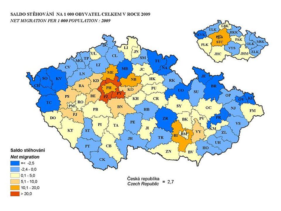 Rozrůstání měst zapříčinil vznik aglomerací (vzájemně blízkých a funkčně propujených sídel, kde jedno dominuje) : - největší Ostravská, Brněnská, Pražská...Zlínská, Olomoucká...největší OstravskáBrněnská Pražská