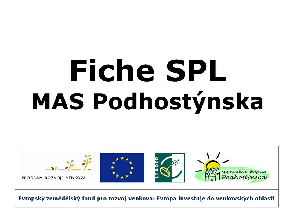 Fiche SPL MAS Podhostýnska