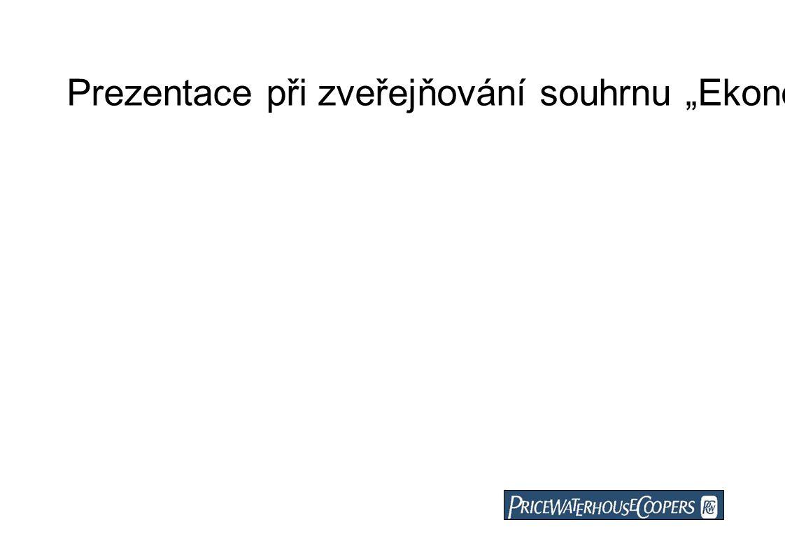"""Prezentace při zveřejňování souhrnu """"Ekonomické a marketingové studie pořádání letních olympijských her v roce 2016 resp. 2020 v hlavním městě Praha"""