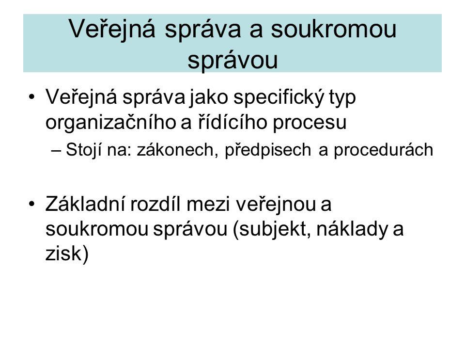 Cvičení 4 •Znaky moderní byrokracie podle M.Webera – J.