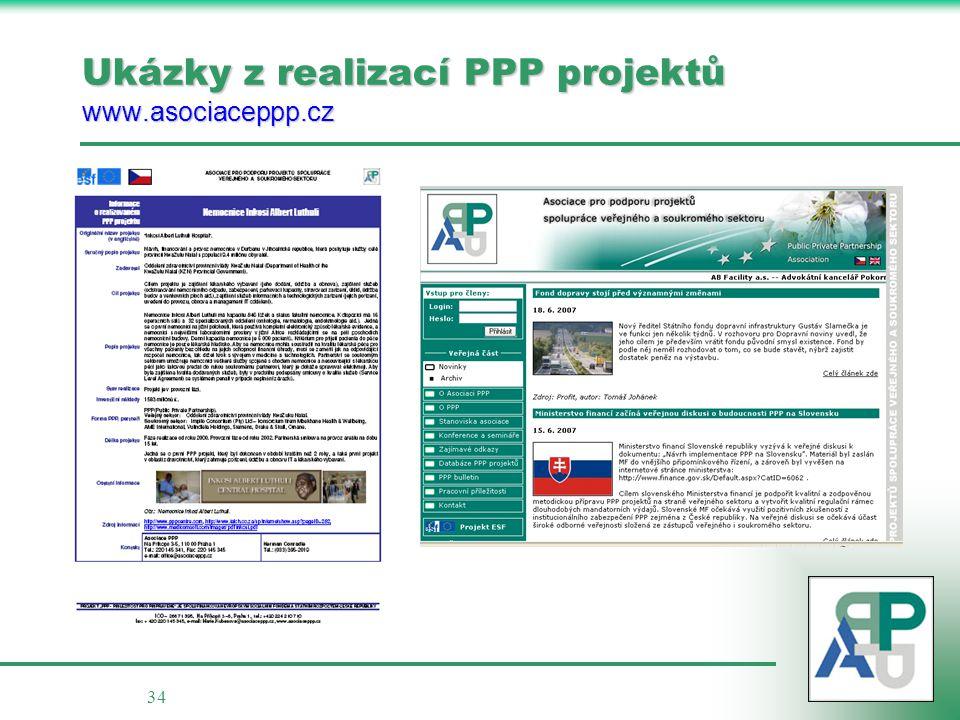 34 Ukázky z realizací PPP projektů www.asociaceppp.cz