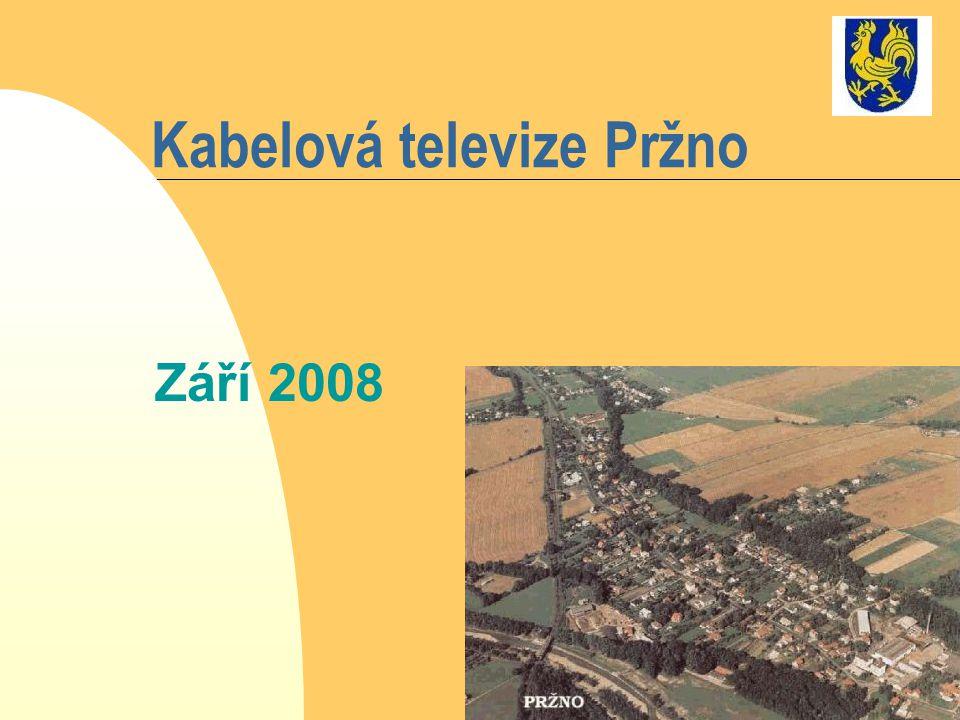 Kabelová televize Pržno Září 2008