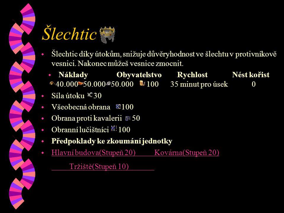 Šlechtic w Šlechtic díky útokům, snižuje důvěryhodnost ve šlechtu v protivníkově vesnici.