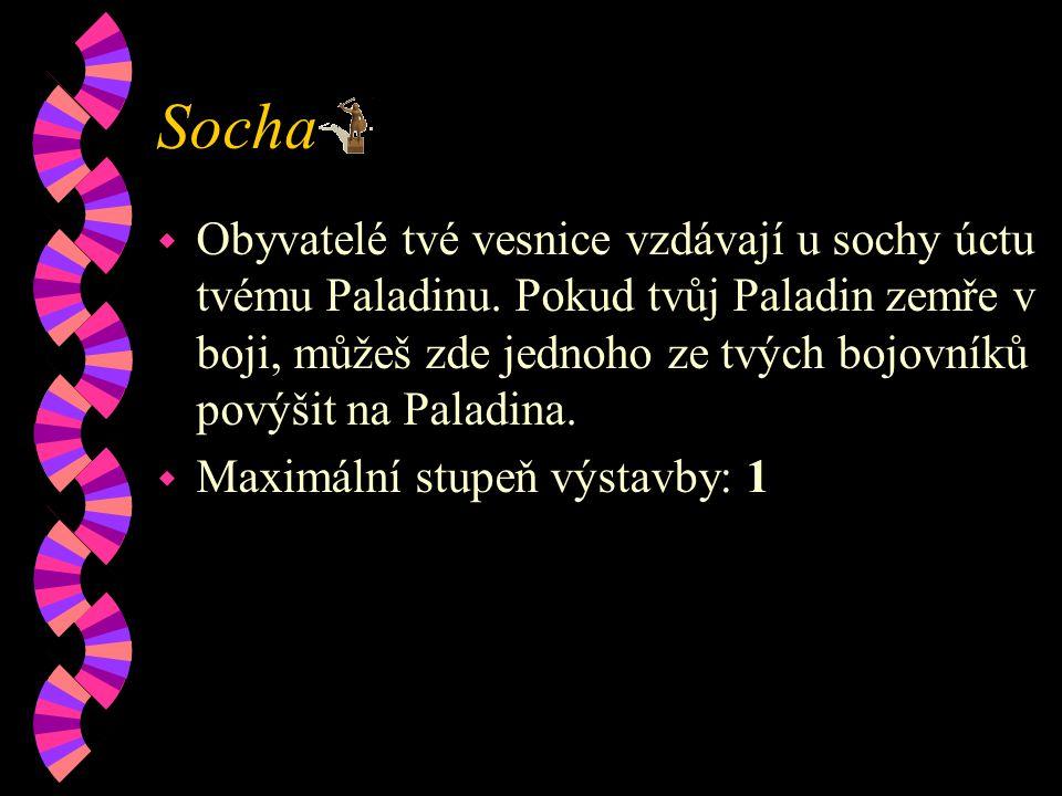 Socha w Obyvatelé tvé vesnice vzdávají u sochy úctu tvému Paladinu.