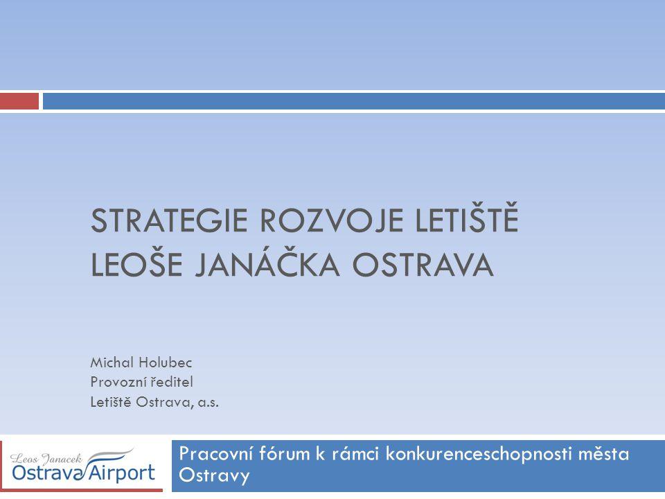 Obsah  Fakta o letišti  Výhody letiště Ostrava  Přeprava cestujících  Přeprava nákladu - cargo  Další příležitosti  Technický rozvoj letiště