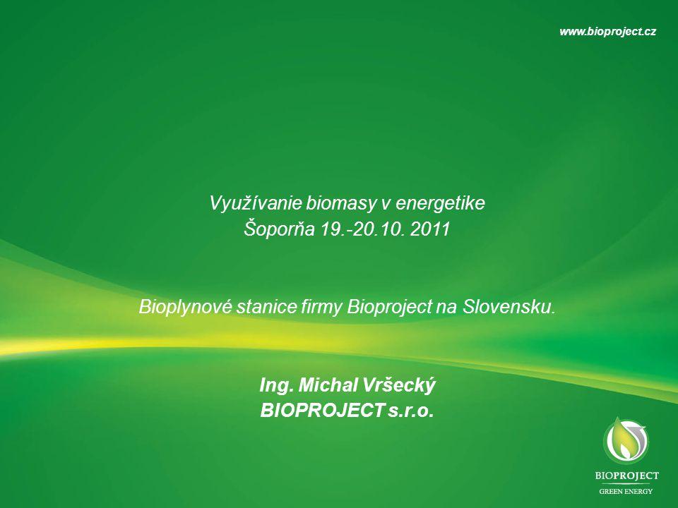 Využívanie biomasy v energetike Šoporňa 19.-20.10.