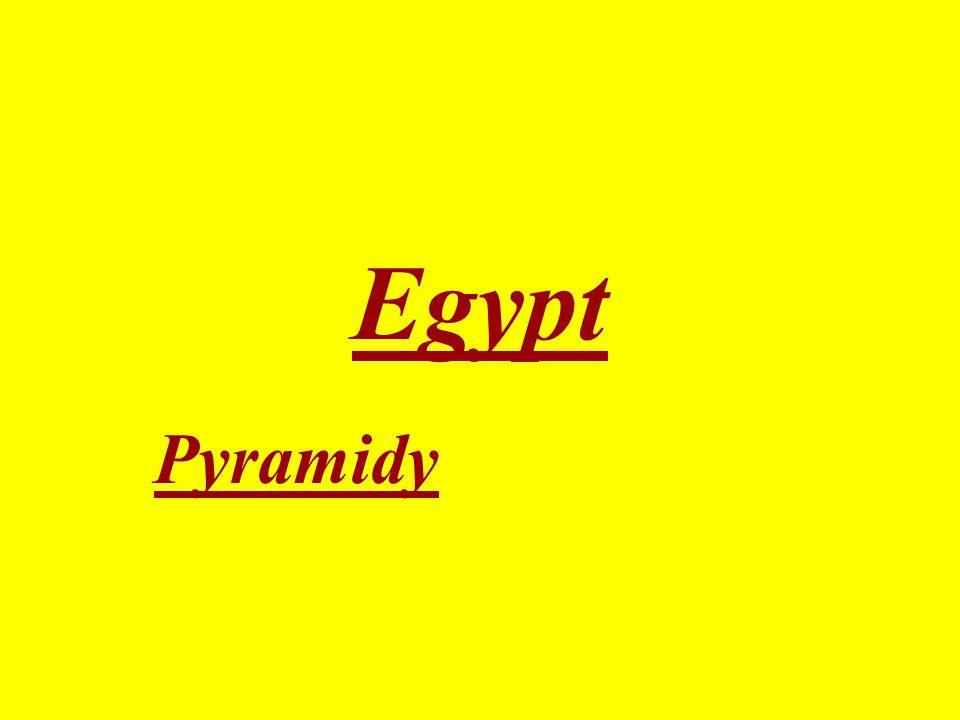 Egypt Pyramidy
