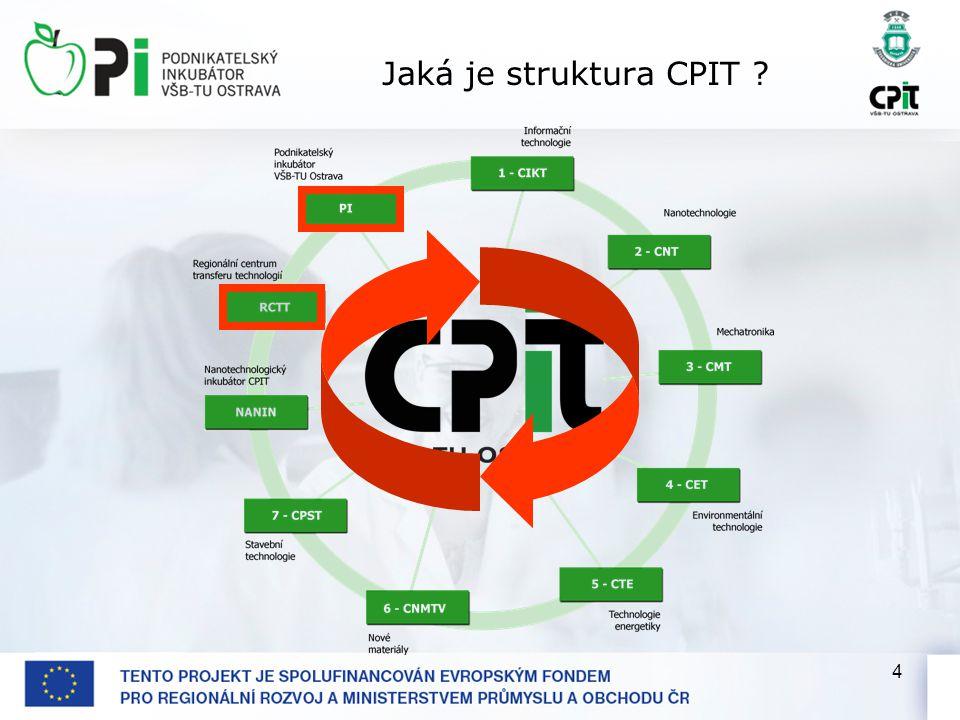 4 Jaká je struktura CPIT