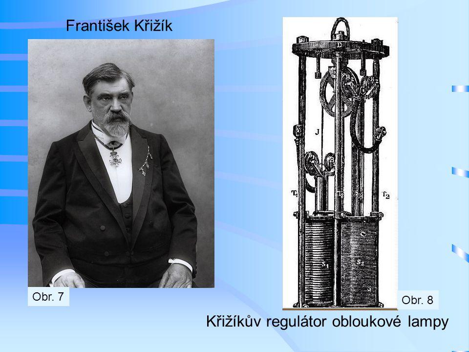 Elektrická dráha Františka Křižíka Obr. 9