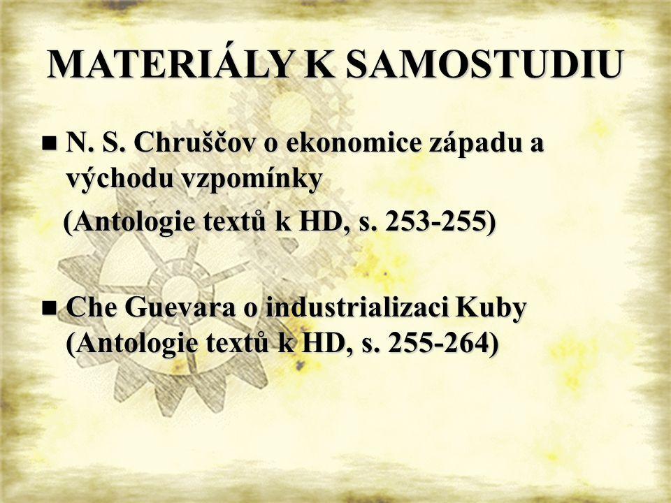 MATERIÁLY K SAMOSTUDIU  N. S.