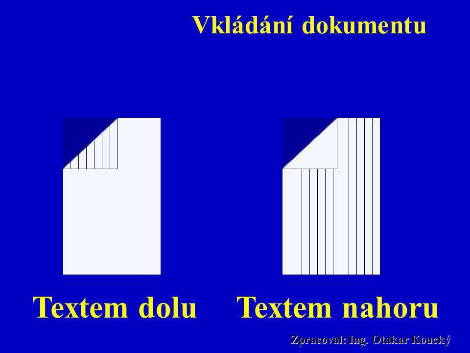 Zpracoval: Ing. Otakar Koucký Rozdělení dle druhu tisku •Tiskárna na termopapír •Termotransfér •Inkoustová tiskárna •Laserová tiskárna